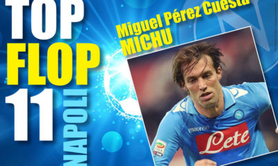 Uno dei Top Flop 11 del Napoli dell'era De Laurentiis, Michu